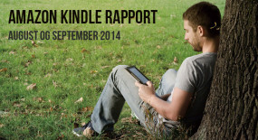 Amazon Kindle rapport – august og september 2014