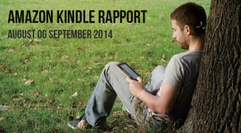 Amazon Kindle rapport – august og september 2014