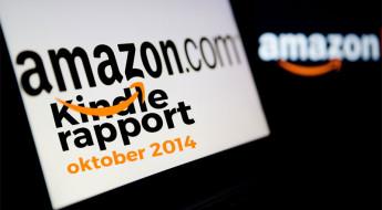 Amazon Kindle rapport – oktober 2014