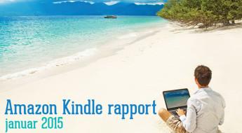 Amazon Kindle rapport – januar 2015