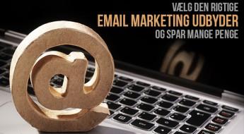 Vælg den rigtige email marketing udbyder og spar mange penge