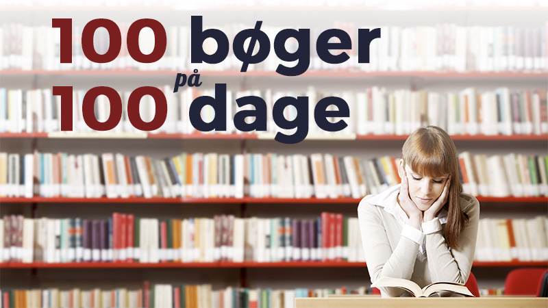 100 bøger på 100 dage